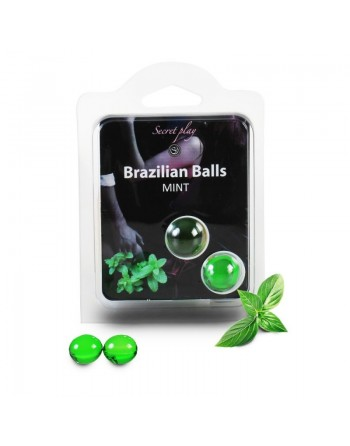 Duo Brazilian Balls Menthe 3385-8