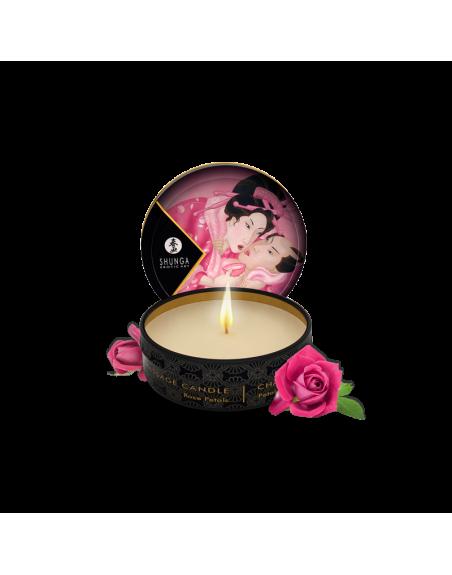 Mini bougie de massage - Aphrodisia Rose