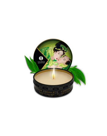 Mini bougie de massage - Zenitude Thé vert exotique